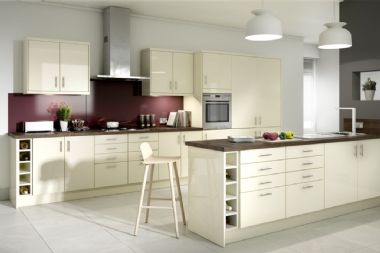 Gower Rapide+ Paris Cream Corner Base Unit Pack 2 - 935mm